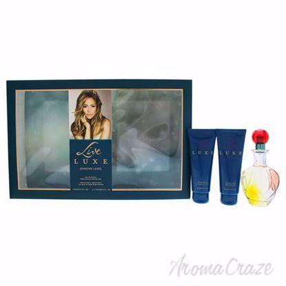 Live Luxe by Jennifer Lopez for Women - 3 Pc Gift Set 3.4oz