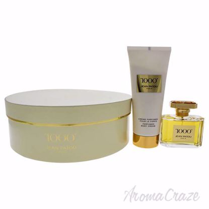 Picture of 1000 by Jean Patou for Women - 2 Pc Gift Set 2.5oz EDP Spray, 6.7oz Body Cream