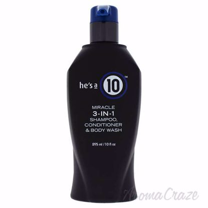 He Is A Miracle 3-In-1 by Its A 10 for Men - 10 oz Shampoo,
