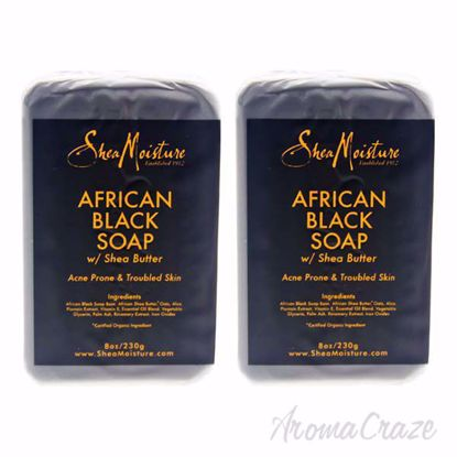 African Black Soap Bar Acne Prone and Troubled Skin by Shea