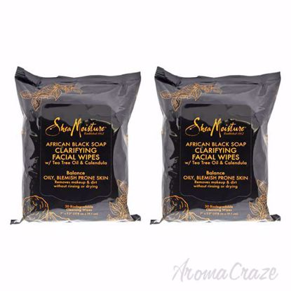 African Black Soap Clarifying Facial Wipes by Shea Moisture