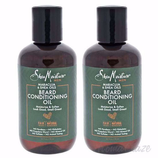 Picture of Maracuja and Shea Oils Beard Conditioning Oil by Shea Moisture for Men - 3.2 oz Beard Oil - Pack of 2