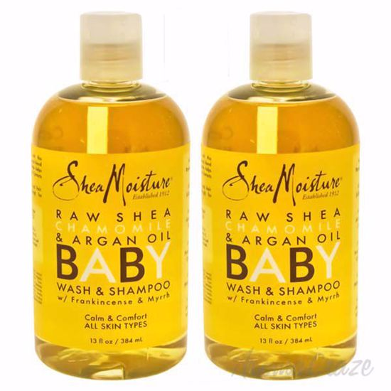 Picture of Raw Shea Chamomile & Argan Oil Baby Body Wash by Shea Moisture for Kids - 13 oz Body Wash - Pack of 2