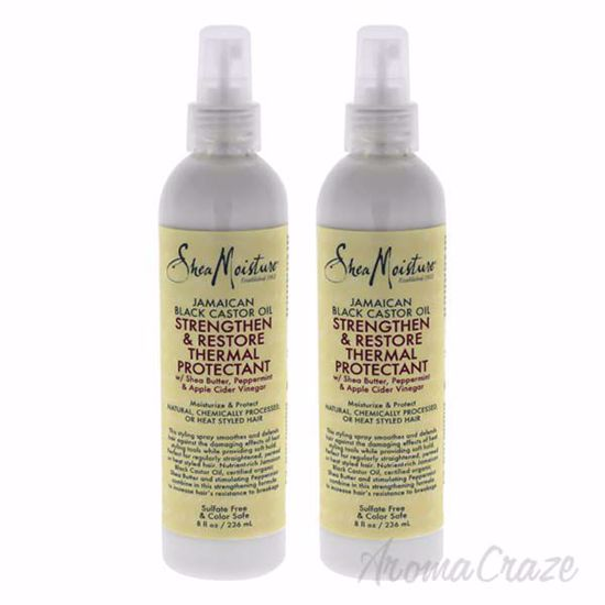 Picture of Jamaican Black Castor Oil Strengthen and Grow Thermal Protectant by Shea Moisture for Unisex - 8 oz S - Pack of 2