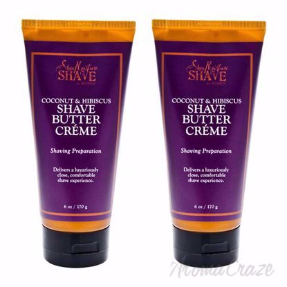 Picture of Coconut & Hibiscus Shave Cream For Women by Shea Moisture for Women - 6 oz Shave Cream - Pack of 2
