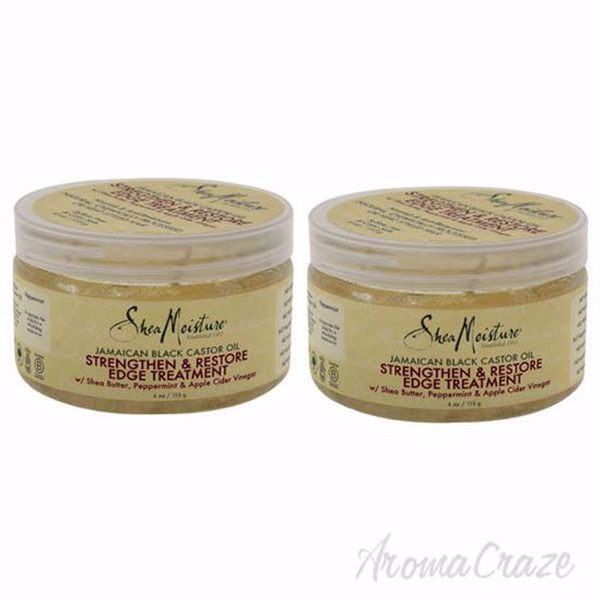 Picture of Jamaican Black Castor Oil Strengthen, Grow and Restore Edge Treatment by Shea Moisture for Unisex - 4 - Pack of 2