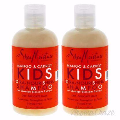 Mango and Carrot Kids Extra-Nourishing Shampoo by Shea Moist
