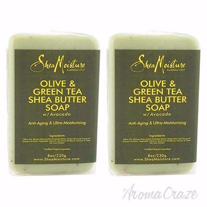 Shea Moisture Olive & Green Tea Shea Butter Soap-Anti Aging