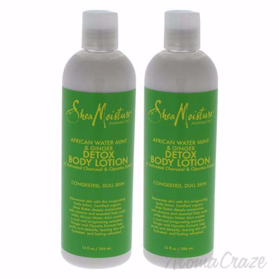 African Water Mint and Ginger Detox Body Lotion by Shea Mois