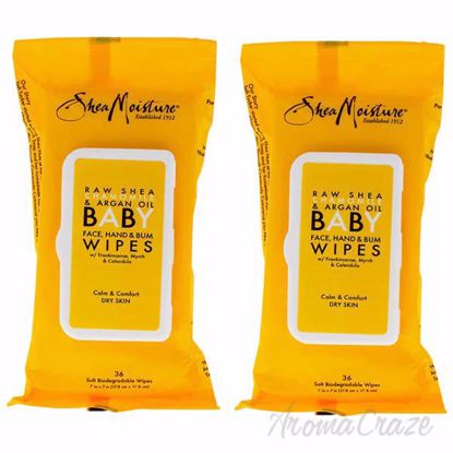 Raw Shea Chamomile and Argan Oil Baby Wipes by Shea Moisture