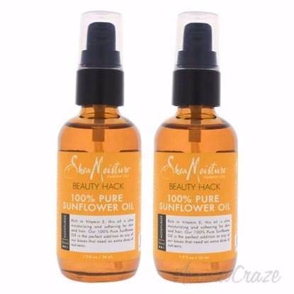 Picture of 100 Percent Pure Sunflower Oil by Shea Moisture for Unisex - 1.9 oz Oil - Pack of 2