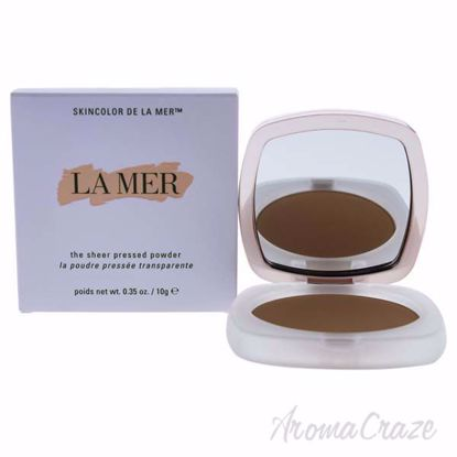 Picture of The Sheer Pressed Powder - 42 Medium Deep by La Mer for Women - 0.35 oz Powder
