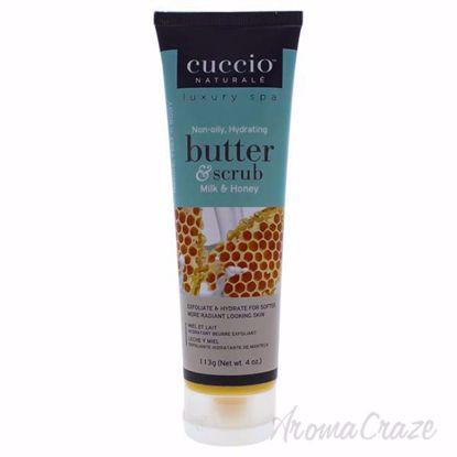 Butter Scrub Milk and Honey by Cuccio for Unisex - 4 oz Scru
