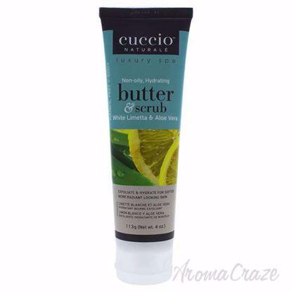 Butter Scrub White Limetta and Aloe Vera by Cuccio for Unise