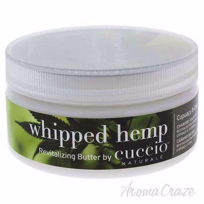 Whipped Hemp Butter Cream by Cuccio for Unisex - 8 oz Body C