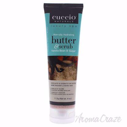 Butter Scrub Vanilla Bean and Sugar by Cuccio for Unisex - 4