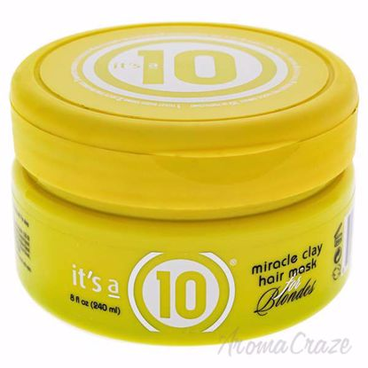 Miracle Clay Hair Mask for Blondes by Its A 10 for Unisex -