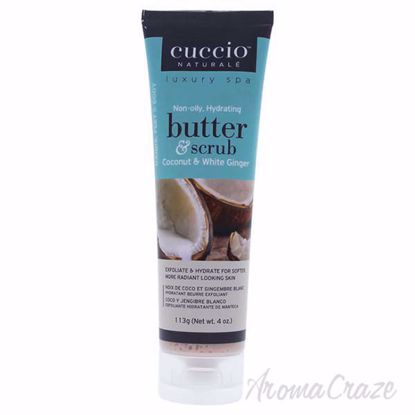 Butter Scrub Coconut and White Ginger by Cuccio for Unisex -