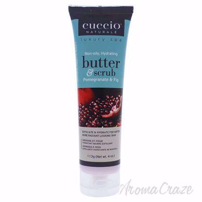 Butter Scrub Pomegranate and Fig by Cuccio for Unisex - 4 oz
