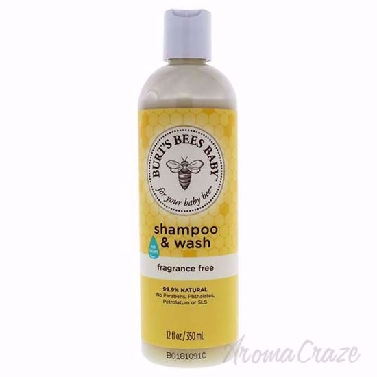 Baby Shampoo and Wash Fragrance Free by Burts Bees for Kids