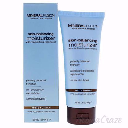Skin-Balancing Moisturizer by Mineral Fusion for Women - 3.4