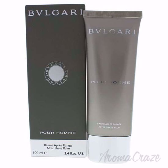 Bvlgari Pour Homme After Shave Balm for Men 3.4 oz