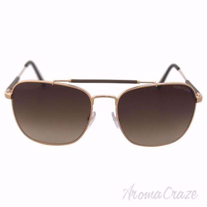 Picture of Tom Ford FT0377 Edward 28K Rose Gold Sunglasses for Men 58-17-140 mm