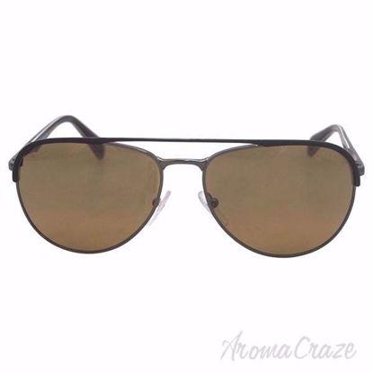 Prada SPR 51Q LAH2C2 Matte Brown Sunglasses for Men 59-16-14