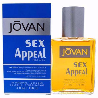 Jovan Sex Appeal by Coty for Men - 4 oz After Shave Cologne