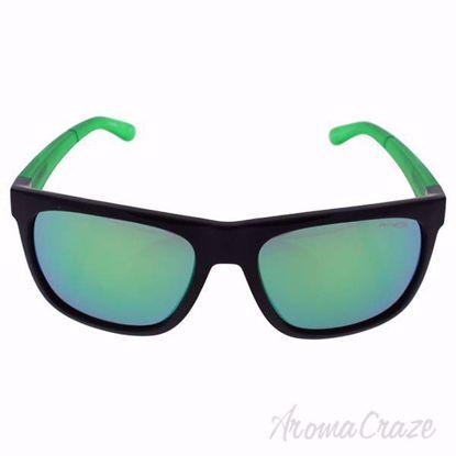 Picture of Arnette AN 4143 2245/3R Fire Drill - Black Green/Green by Arnette for Men - 59-18-135 mm Sunglasses