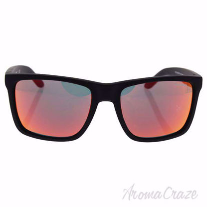 Picture of Arnette AN 4177 447/6Q Witch Doctor - Fuzzy Black/Fuzzy Neon Orange by Arnette for Men - 59-19-135 mm Sunglasses