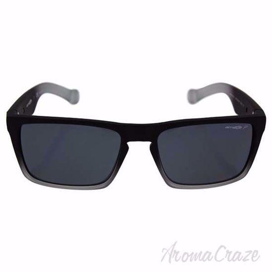 Arnette AN 4204 2253/81 Specialist - Fuzzy Black/Translucent Grey Polarized Sunglasses For Men