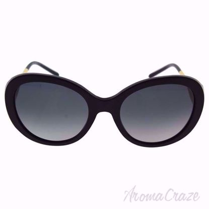 Burberry BE 4191 3001/T3 Black/Grey Gradient Polarized Sunglass for Women on SunglassCraze.com. 57-21-135 mm Sunglasses. Black color frame with gray gradient lens of an oval shape.