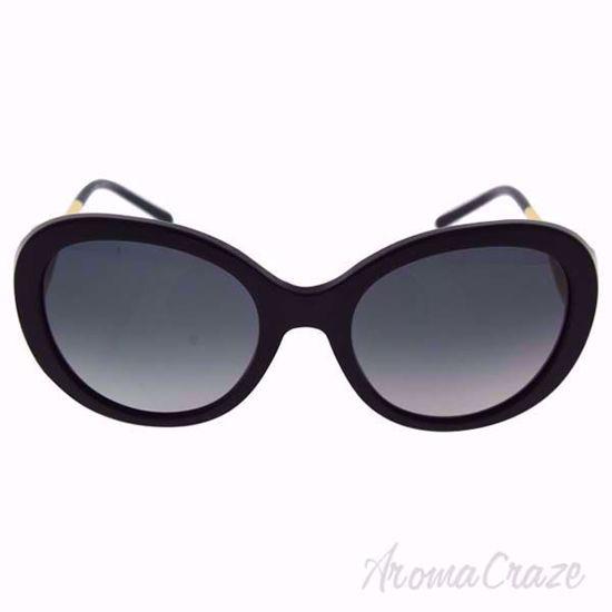 Burberry BE 4191 3001/T3 Black/Grey Gradient Polarized Sunglass for Women on SunglassCraze.com. 57-21-135 mm Sunglasses. Black color frame with gray gradient lens of an oval shape.
