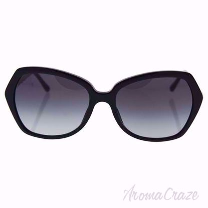 Burberry BE 4193 3001/8G Black/Grey Gradient Sunglasses for Women on SunglassCraze.com. 57-17-135 mm Sunglasses. Gray gradient lens of a butterfly shape.