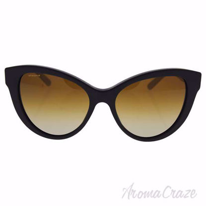 6dbaed102d61 Burberry BE 4220 3464/T5 - Matt Black/Brown Gradient Polarized by Burberry  for Women - 56-17-140 mm Sunglasses