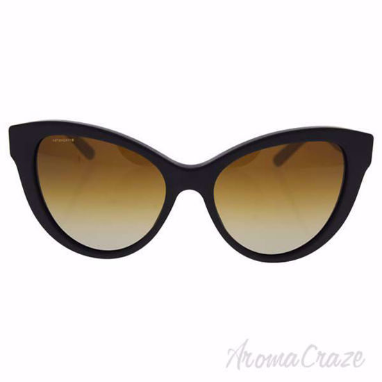 Picture of Burberry BE 4220 3464/T5 - Matt Black/Brown Gradient Polarized by Burberry for Women - 56-17-140 mm Sunglasses