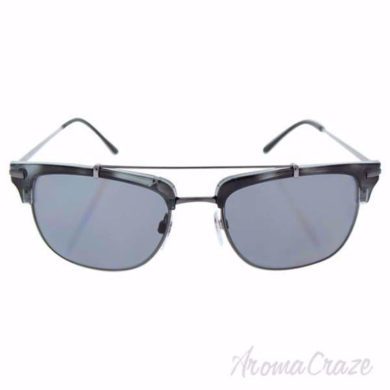 Picture of Burberry BE 4202Q 3533/T8 - Brushed Gunmetal/Dark Grey Polarized by Burberry for Men - 54-19-145 mm Sunglasses