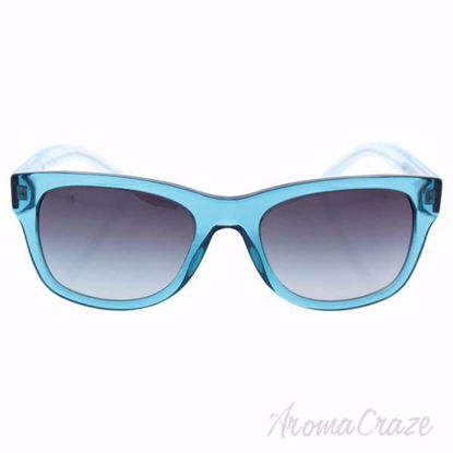 Picture of Burberry BE 4211 3542/8G - Transparent Turquoise/Grey Gradient by Burberry for Women - 55-20-140 mm Sunglasses