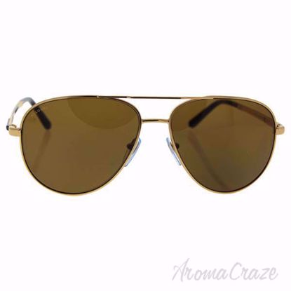 Bvlgari BV5029K 391/83 - Gold Plated/Brown Polarized by Bvlg