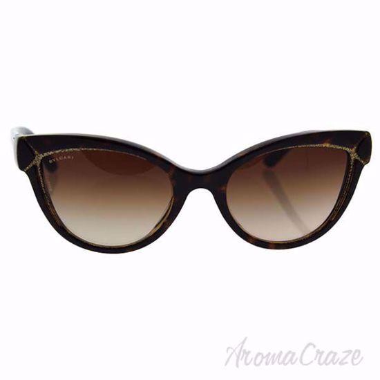 Picture of Bvlgari BV8156B 5353/13 - Havana Glitter Gold/Brown by Bvlgari for Women - 54-20-140 mm Sunglasses