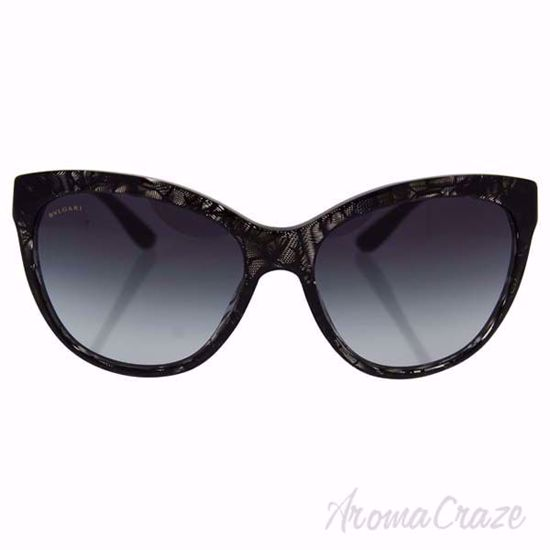 Picture of Bvlgari BV8158 5366/8G - Variegated Black/Grey Shaded by Bvlgari for Women - 57-17-140 mm Sunglasses