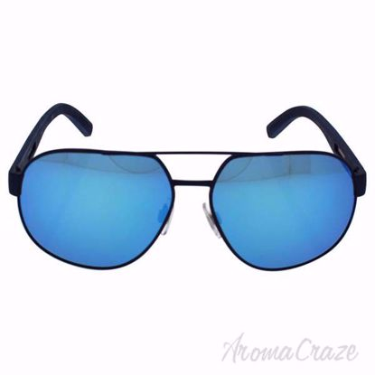 Picture of Dolce & Gabbana DG 2147 1273/25 - Blue/Blue Rubber by Dolce & Gabbana for Men - 61-14-145 mm Sunglasses