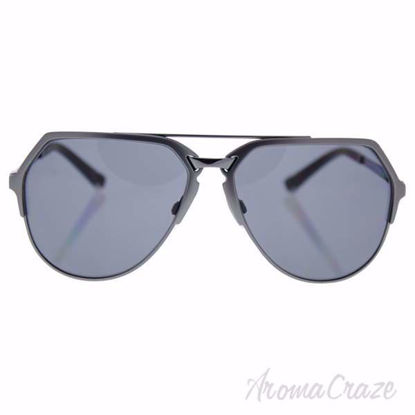 Picture of Dolce & Gabbana DG 2151 1108/81 - Matte Gunmetal/Grey Polarized by Dolce & Gabbana for Men - 59-15-140 mm Sunglasses