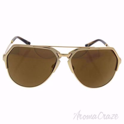 Picture of Dolce & Gabbana DG 2151 K440/F9 - Gold/Brown Bronze by Dolce & Gabbana for Men - 59-15-140 mm Sunglasses