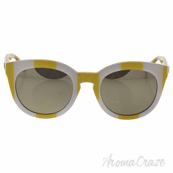 Picture of Dolce and Gabbana DG 4249 3025/5A - Yellow White/Light Brown Gold by Dolce and Gabbana for Women - 50-22-140 mm Sunglasses
