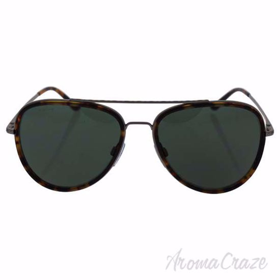 Picture of GA AR 6039 3147/71 Frames of Life-Matte Gunmetal-Matte Yellow Havana/Grey Green by Giorgio Armani for Men - 56-16-140 mm Sunglasses