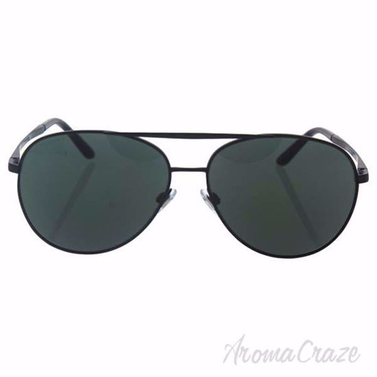 Picture of Giorgio Armani AR 6030 3001/71 - Matte Black/Green by Giorgio Armani for Men - 60-14-140 mm Sunglasses