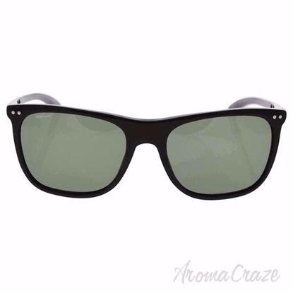 Picture of Giorgio Armani AR 8048Q 5017/9A - Black/Green Polarized by Giorgio Armani for Men - 55-18-145 mm Sunglasses