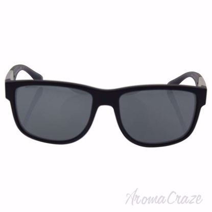 Picture of Giorgio Armani AR 8057 5042/6G - Matte Black/Grey Silver by Giorgio Armani for Men - 57-16-140 mm Sunglasses